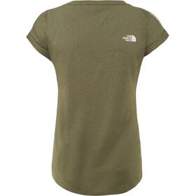 The North Face Tanken Bluzka z krótkim rękawem Kobiety oliwkowy